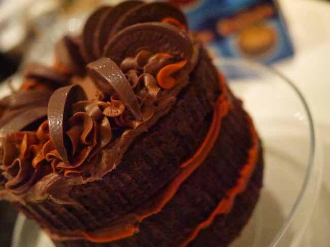 Caramelized Orange and Chocolate Layer Cake | eCurry - The Recipe Blog
